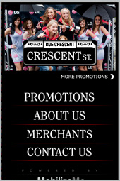 Crescent Street merchants Association
