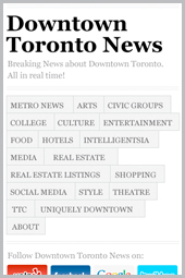 Downtown Toronto News Mobile